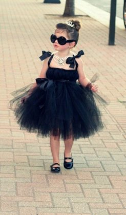 TUTU kleita Small black dress