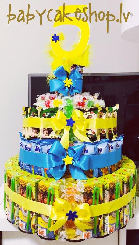 Saldumu torte Bērnu ballītei