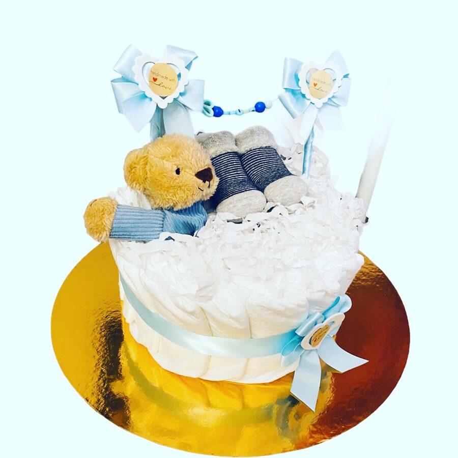 Pamperu torte Baltais