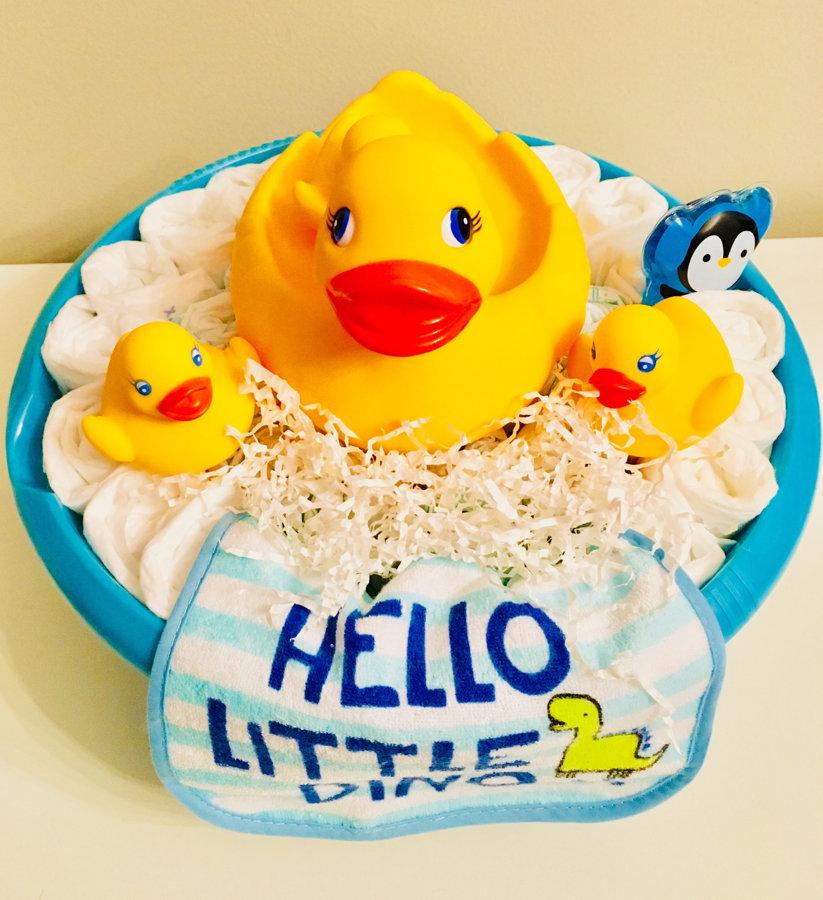 """Pamperu torte """"Gatavojamies peldēšanai"""""""