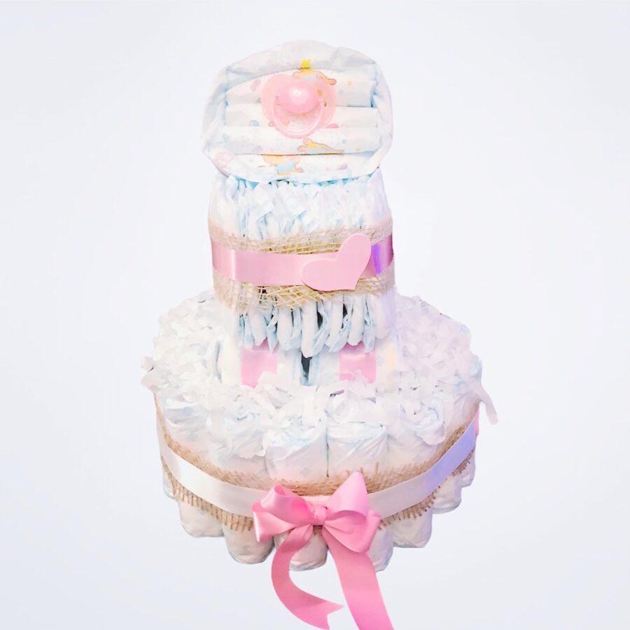 """Pamperu torte """"Svētku ratiņi"""""""