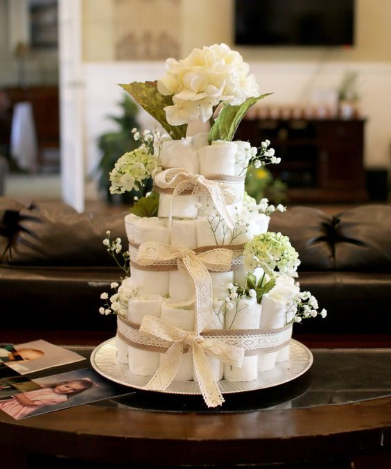 Pamperu torte EKO 3 stāvu