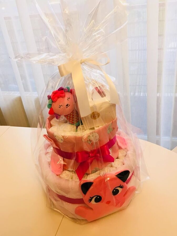Pamperu torte Kaķītis