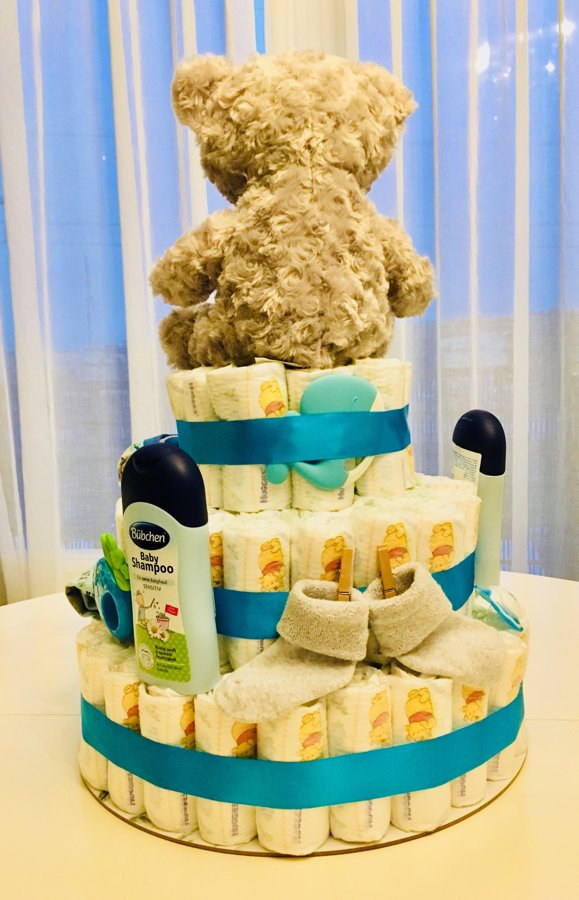 Pamperu torte Teddy Big
