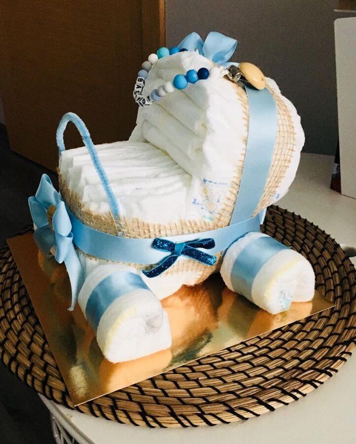 "Pamperu torte ""Ratiņi"""