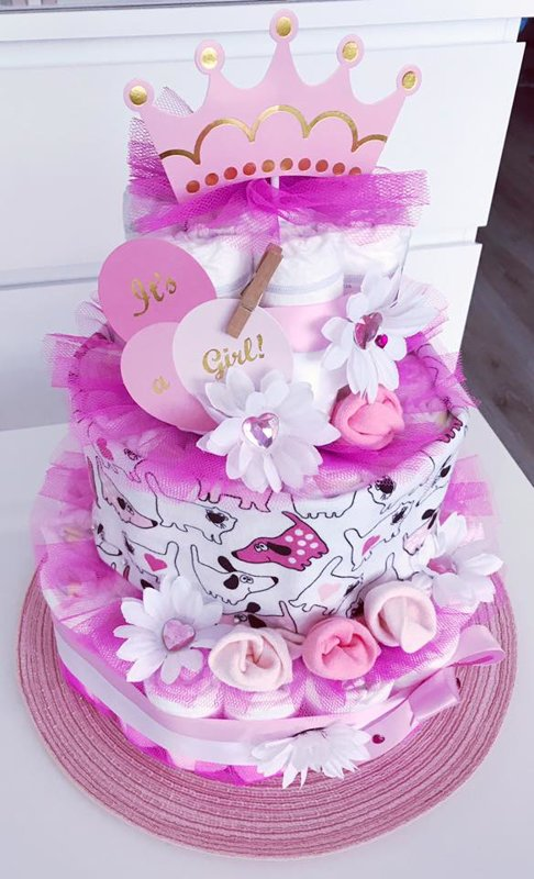 """Pamperu torte """"Ziedu paradīze"""""""