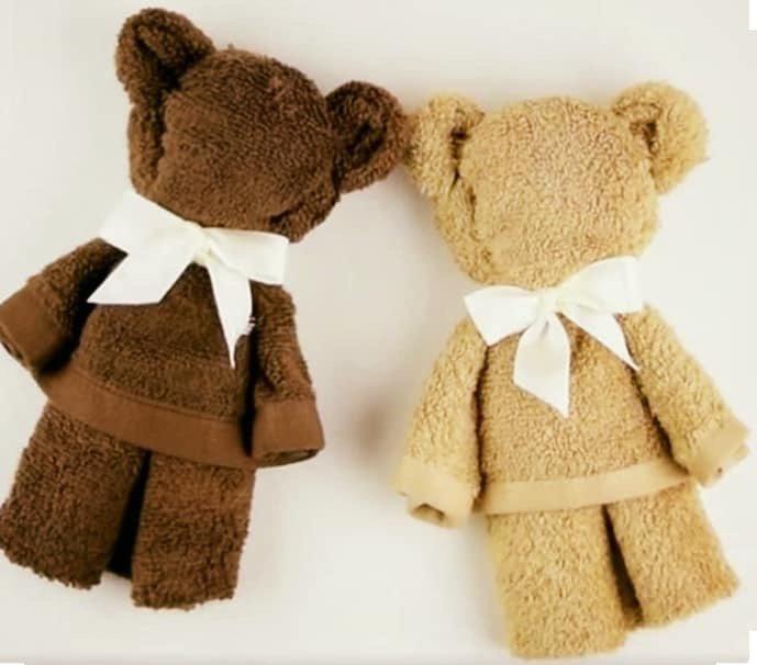 Teddy no bērnu dvielīti