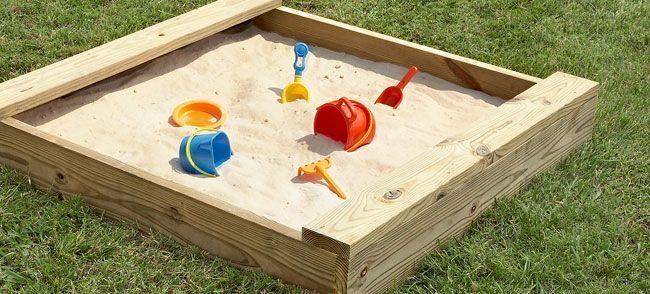 Bērnu smilšu kastes