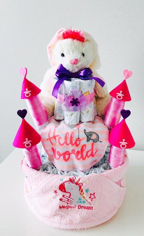 "Pamperu torte ""Pils Princesei"""