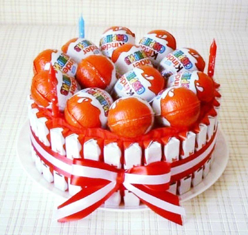 """Saldā torte """"Dzimšanas diena"""""""