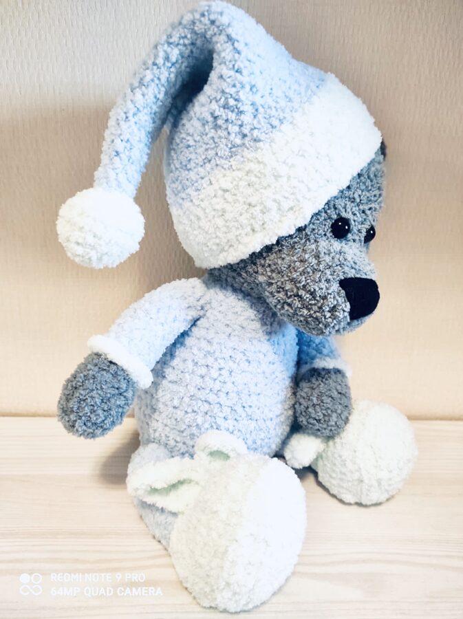 Mīksts Teddy Blue