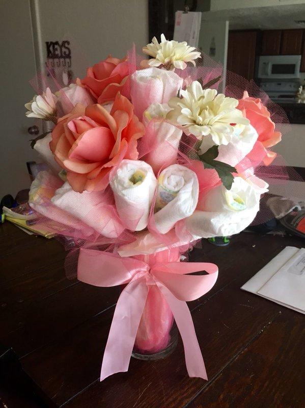 """Pamperu ziedu pušķis """"Princese"""""""