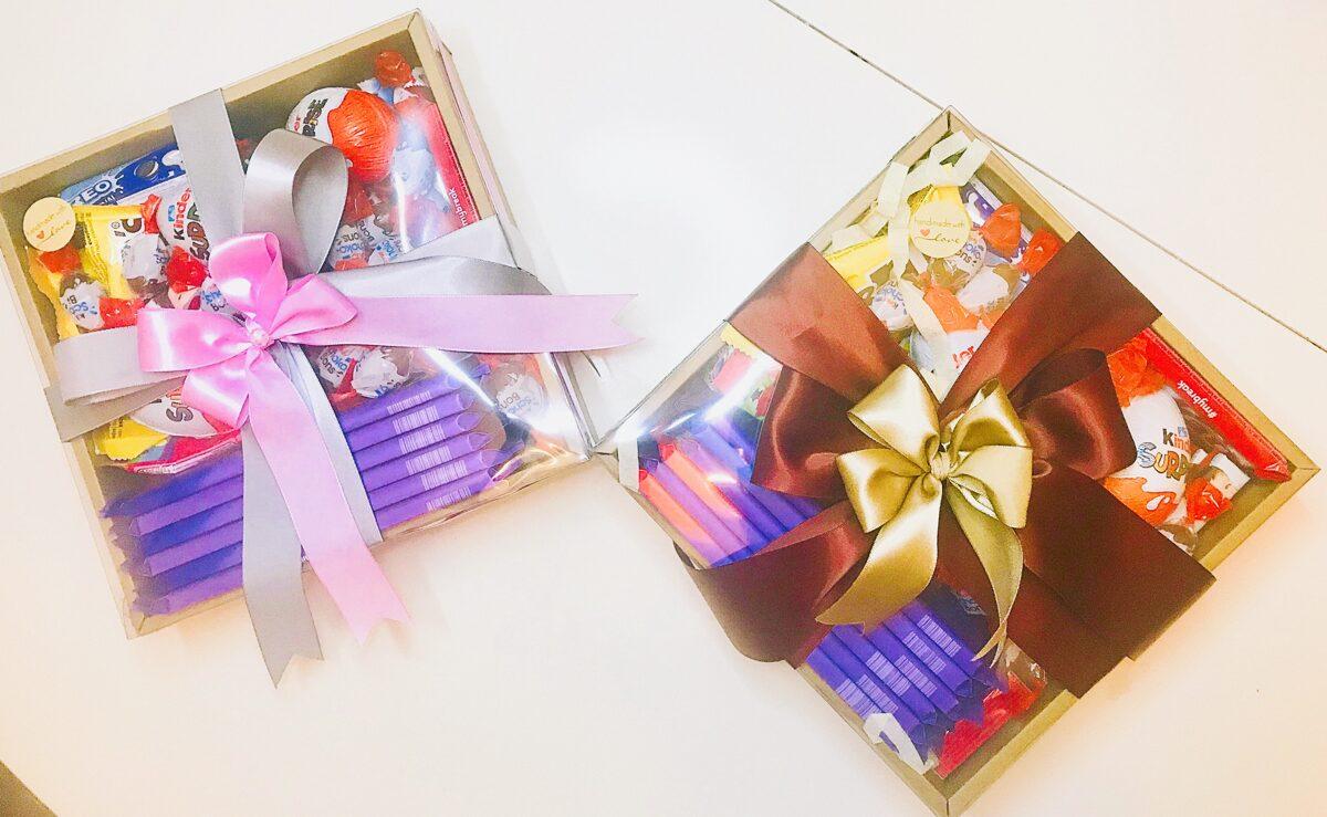 Saldumu mix, dāvanu kaste