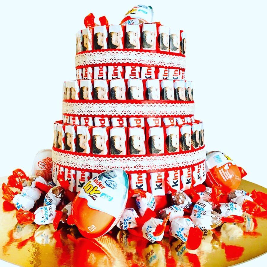 Salda dāvana no Kinder saldumiem