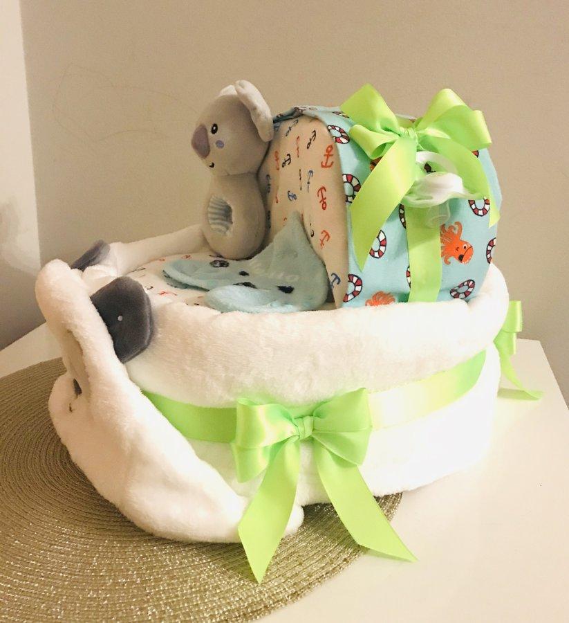 Pamperu torte Gultiņa zaļa