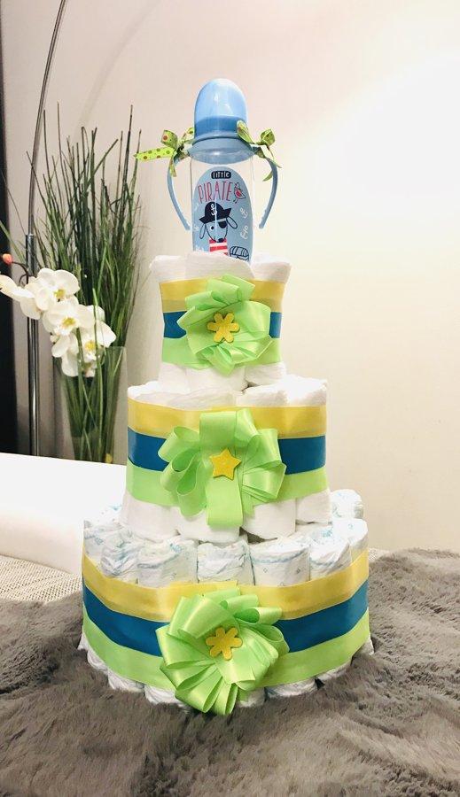 Pamperu torte Skaistums 2