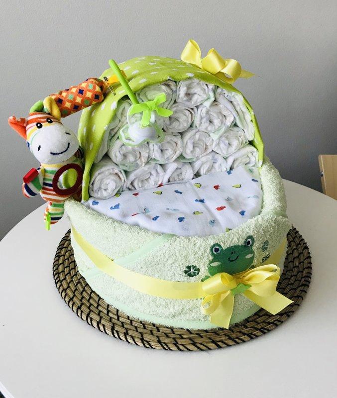 """Pamperu torte """"Gultiņa"""""""