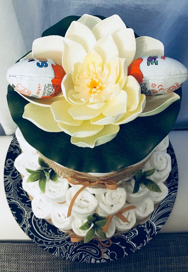 Liela pamperu torte Botāniskais dārzs