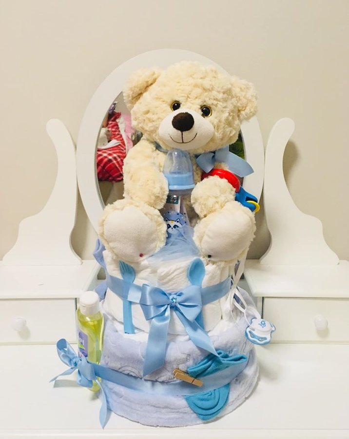 Pamperu torte Teddy Bear