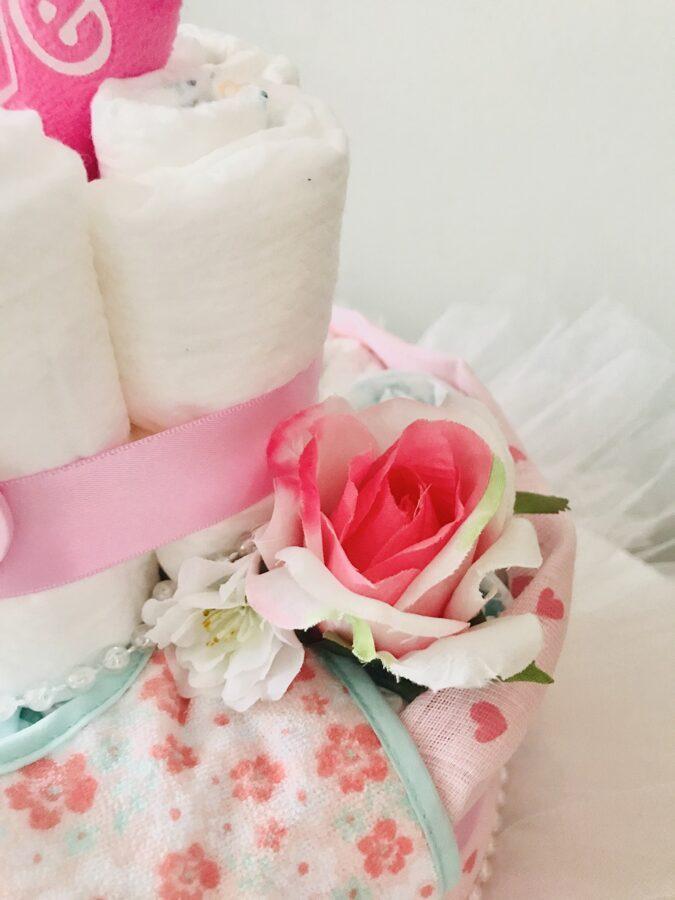 Pamperu torte TUTU rose