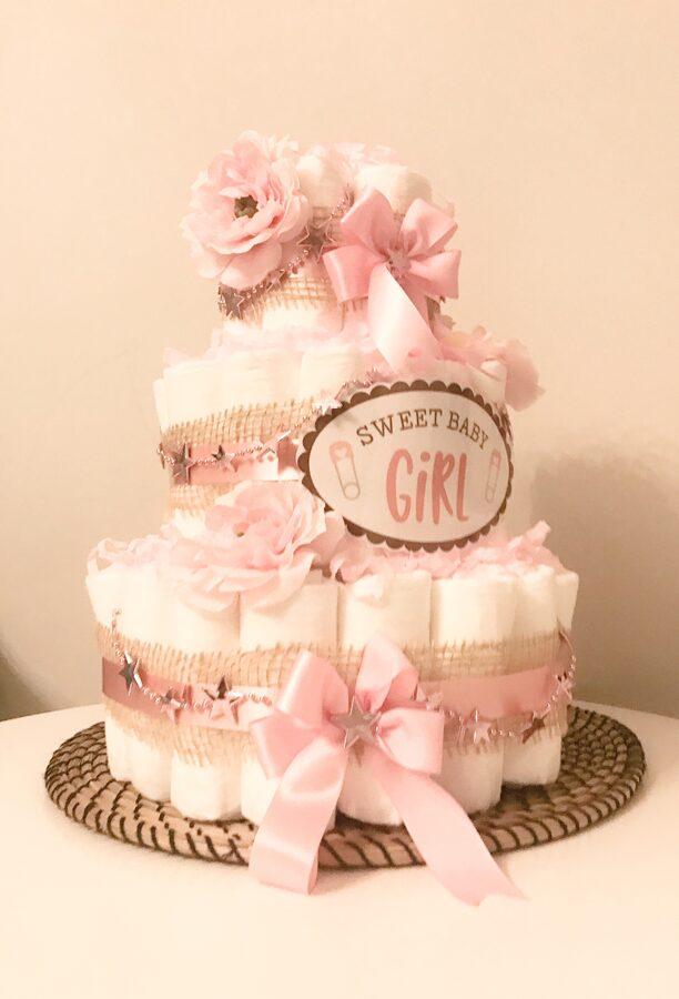 Pamperu torte Roze