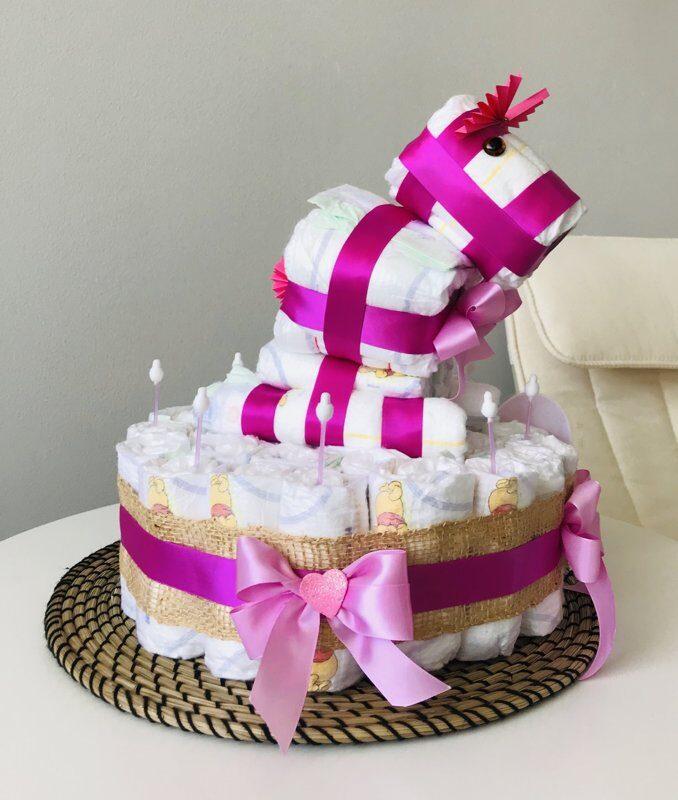 Pamperu torte Zirdziņš