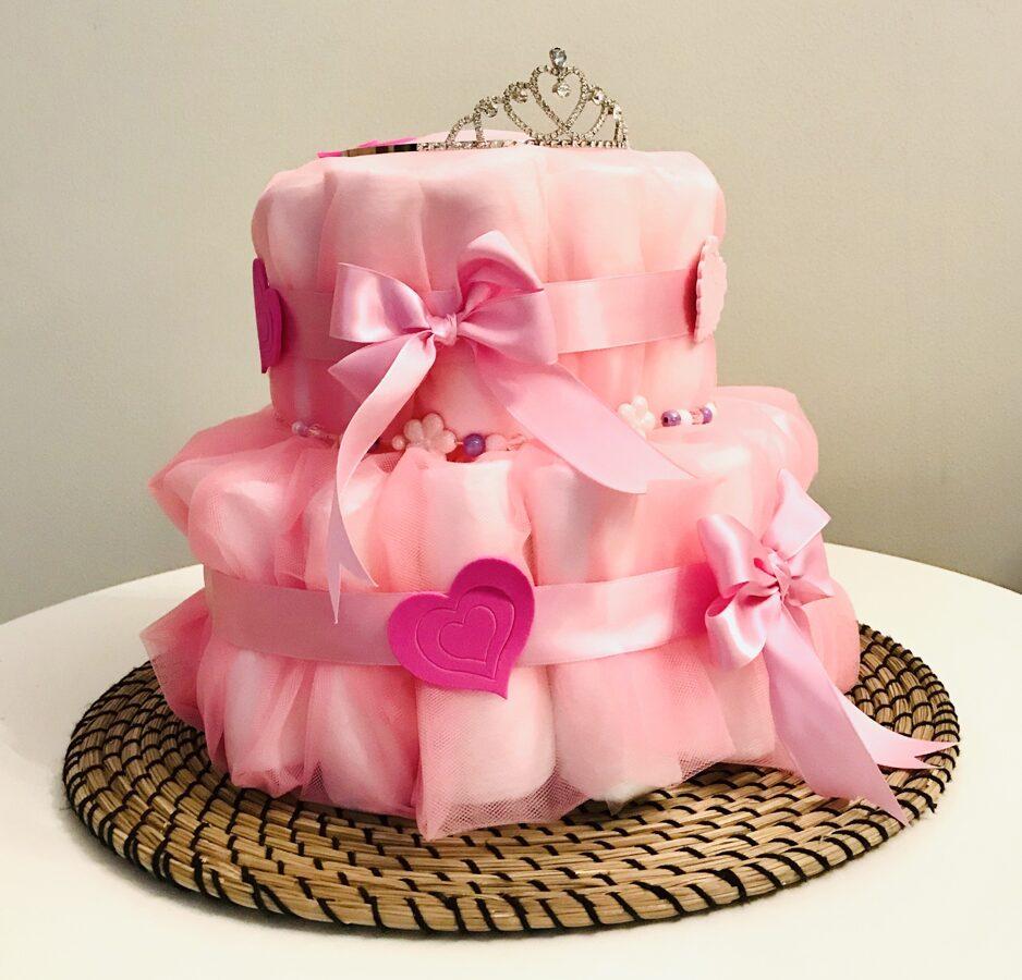 """Pamperu torte """"Roze"""""""
