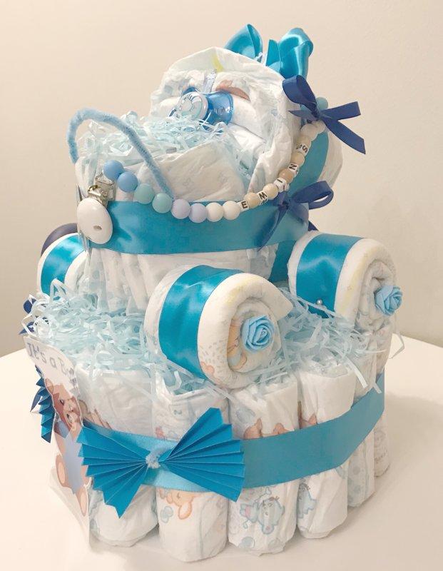 "Pamperu torte ""Ratiņi 2"""
