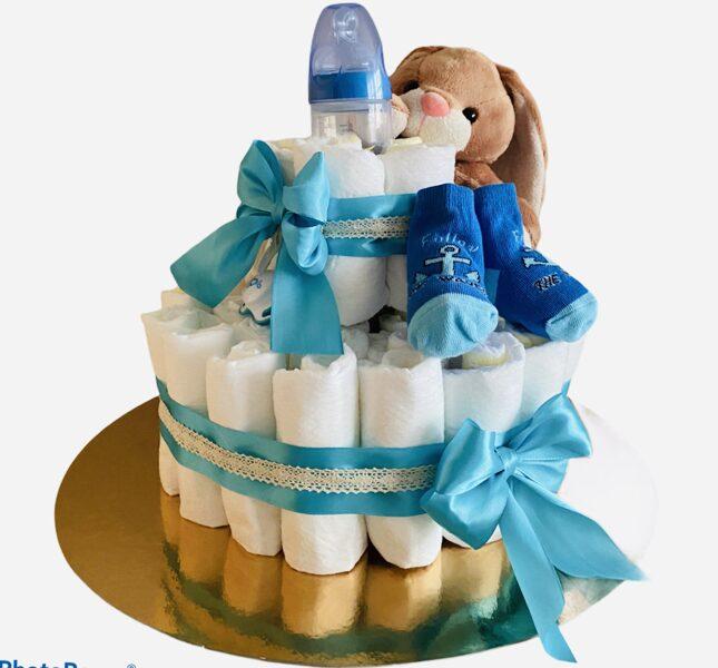 Pamperu torte Zaķitis