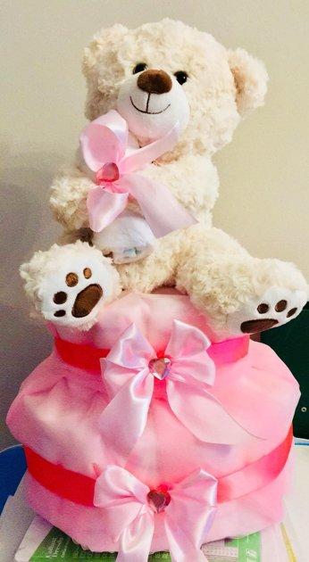 Pamperu torte Teddy Rose